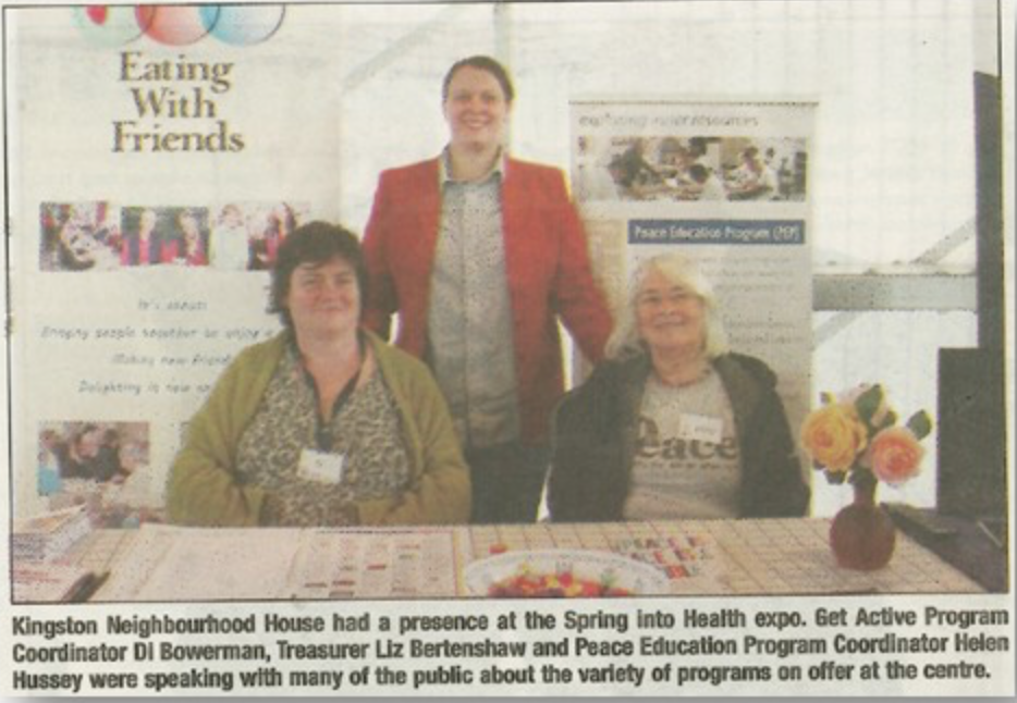 KNH in the Chronicle