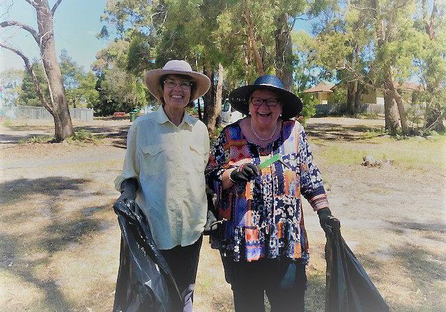 Roza Brinkworth & Sue Bushnell